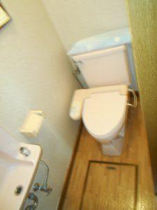 施工事例 シックな大人リフォーム トイレ before