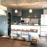 リフォーム施工事例おしゃれなタイルのキッチン