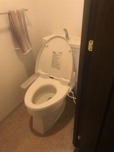 リフォーム施工前マンショントイレ